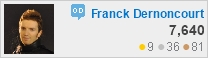 profile for Franck Dernoncourt at Open Data