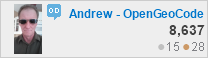 profile for Andrew - OpenGeoCode at Open Data